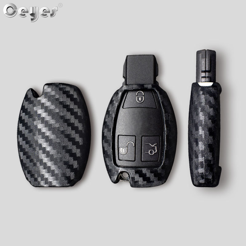 Image 5 - Ceyes Car Styling Auto Carbon Fiber Shell Covers Case For Mercedes Benz Cla CLS R350 C200 C180 E260L S320 GLK300 C S Accessories-in Car Stickers from Automobiles & Motorcycles