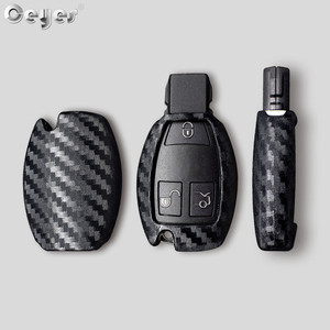 Image 5 - Ceyes Car Styling Auto Carbon Fiber Shell Covers Case For Mercedes Benz Cla CLS R350 C200 C180 E260L S320 GLK300 C S Accessories