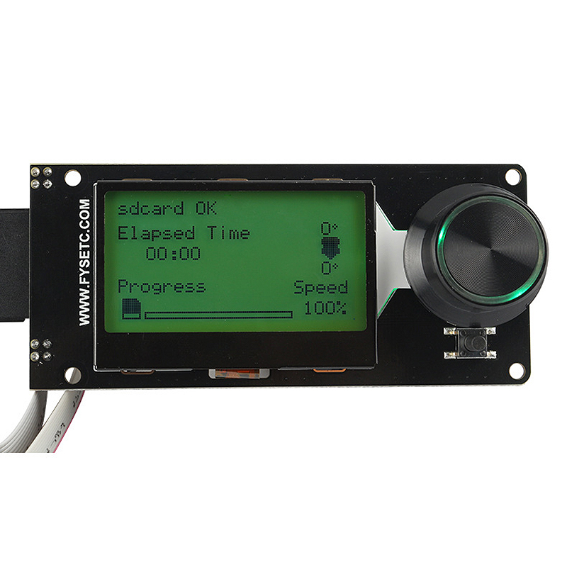 Image 4 - Type D Mini12864 Lcd Screen Mini 12864 Smart Display White On Black Supports Marlin Diy With Sd Card 3d Printer Accessories-in 3D Printer Parts & Accessories from Computer & Office