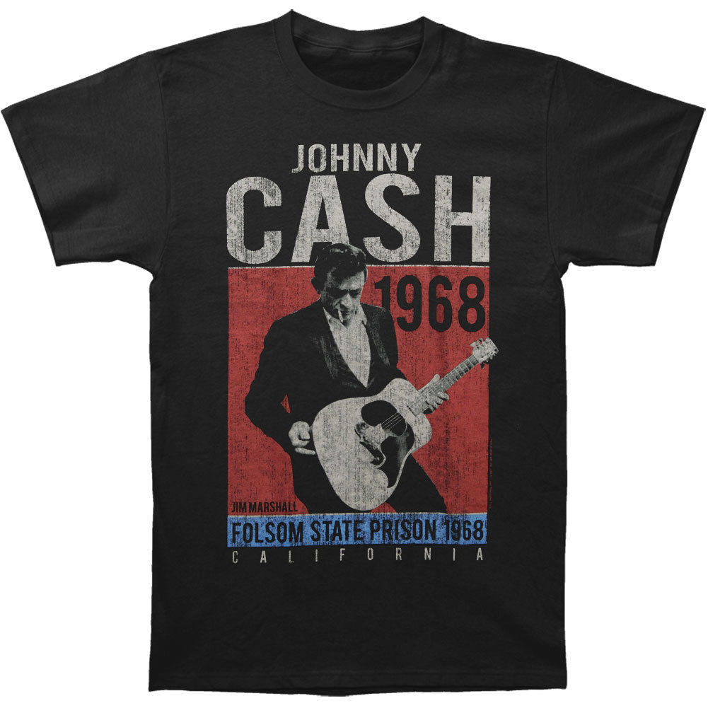 Johnny Cash MenS One More Song Vintage T Shirt Medium Black