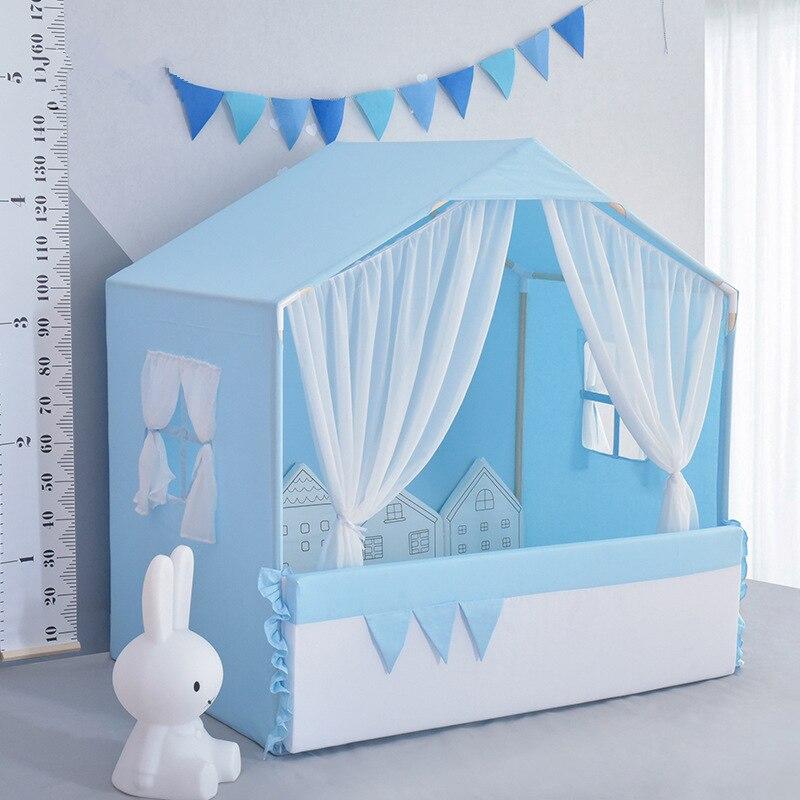Maison de jeux enfant nordique INS même tente dôme bébé moustiquaire suspendue décoration chambre enfant tente piscine à balles Marine