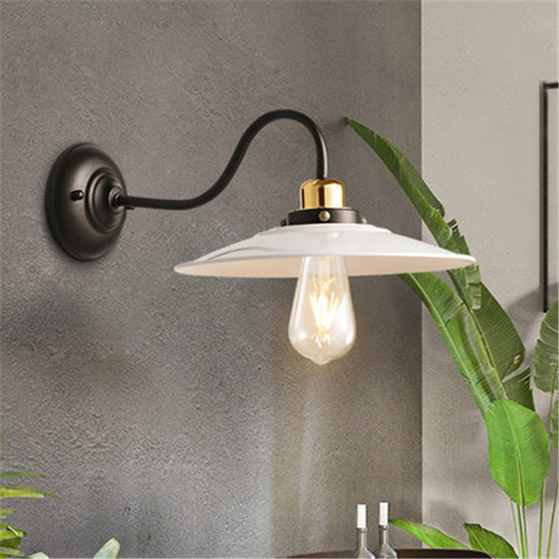 Nordic Loft Style Edison Wall Sconce Iron Antique Lamp Industrial Vintage LED Wall Light Fixtures Home Lighting Lampara Pared блузка для девочки button blue цвет голубой 217bbgs22071805 размер 164 14 лет