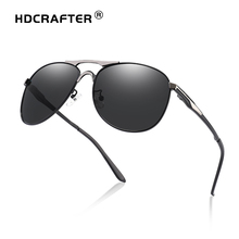 Wholesale 2014 Fashion Polarized Outdoor Aviator Sun Glasses for Men UV400 Brand Designer with High Quality Free Shipping