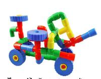 45pcs Lot Multicolor Children Plastic Tunnel Water Pipe Building Blocks Sets DIY Educational Games Toys For