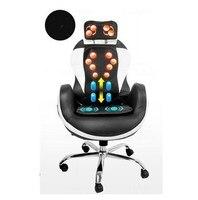 Полный тело 3D Электрический массажный стул офис вибрации тепла Диван шеи назад Massager ICA Массажер подушка Китай шиацу устройство