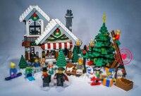 Girl Series 39015 Cinderella S Christmas Hut Blocks Educational Brick Toy Lepin Compatible Legoe Creator Christmas