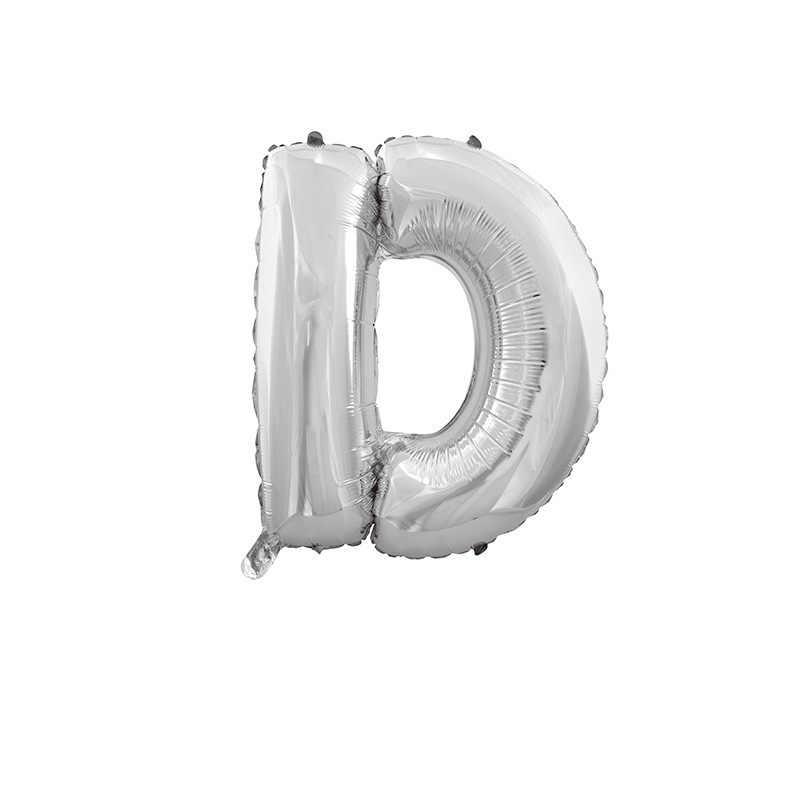 16 дюймов серебряные шары буквы алфавита Воздушные шары Дети День Рождения украшения фольги воздушный шар День рождения Свадебные принадлежности