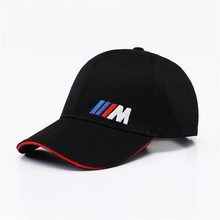 M logo cotton sports Golf outdoor baseball cap hat simple solid for BMW E30 E34 E36 E38 E39 E93 F10 F20 F30 X1 X3 X5 X6
