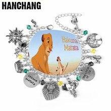 Inspired Bracelet Hakuna Matata  Lion King The Circle Of Life Animal Bangle Women Men Stronger Wristband