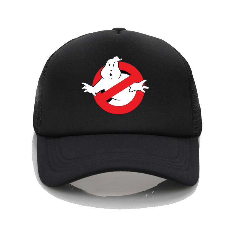 Ghostbusters Movie net   cap   Ghostbusters Movie Printing   baseball     cap   Men women Summer Trend   Cap   Beach Visor hat