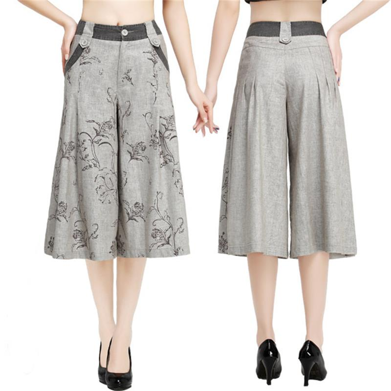 Popular Womens Patterned Linen Pants-Buy Cheap Womens Patterned ...