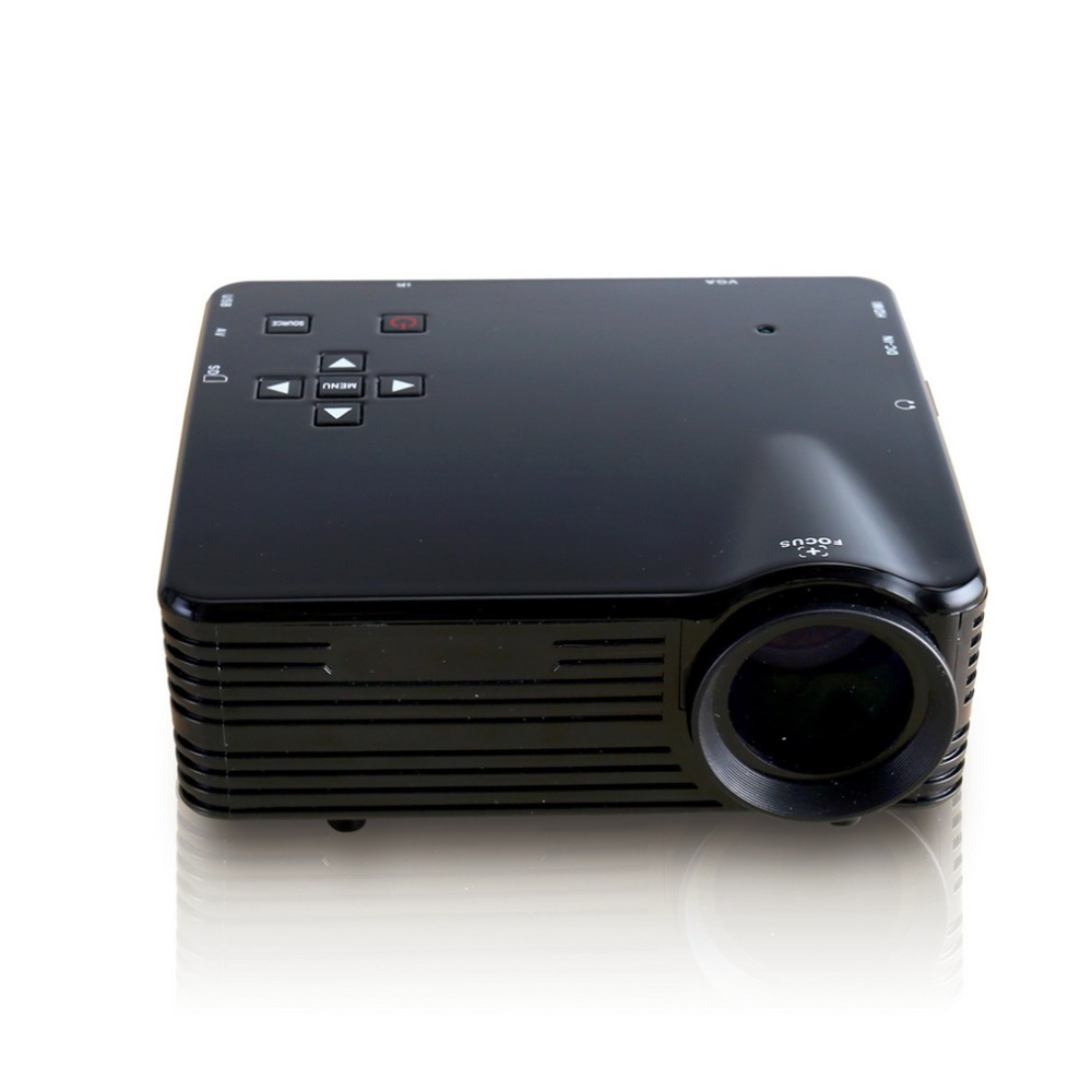 Hot sale! Protable Mini LCD Projector HDMI LED Multimedia Video Movie Projector Home Cinema Theater AV VGA USB TV Beamer Proyect hot sale hot sale e03 portable mini projector home theater video led lcd proyector with vga usb hdmi av tv single chip lcd tech