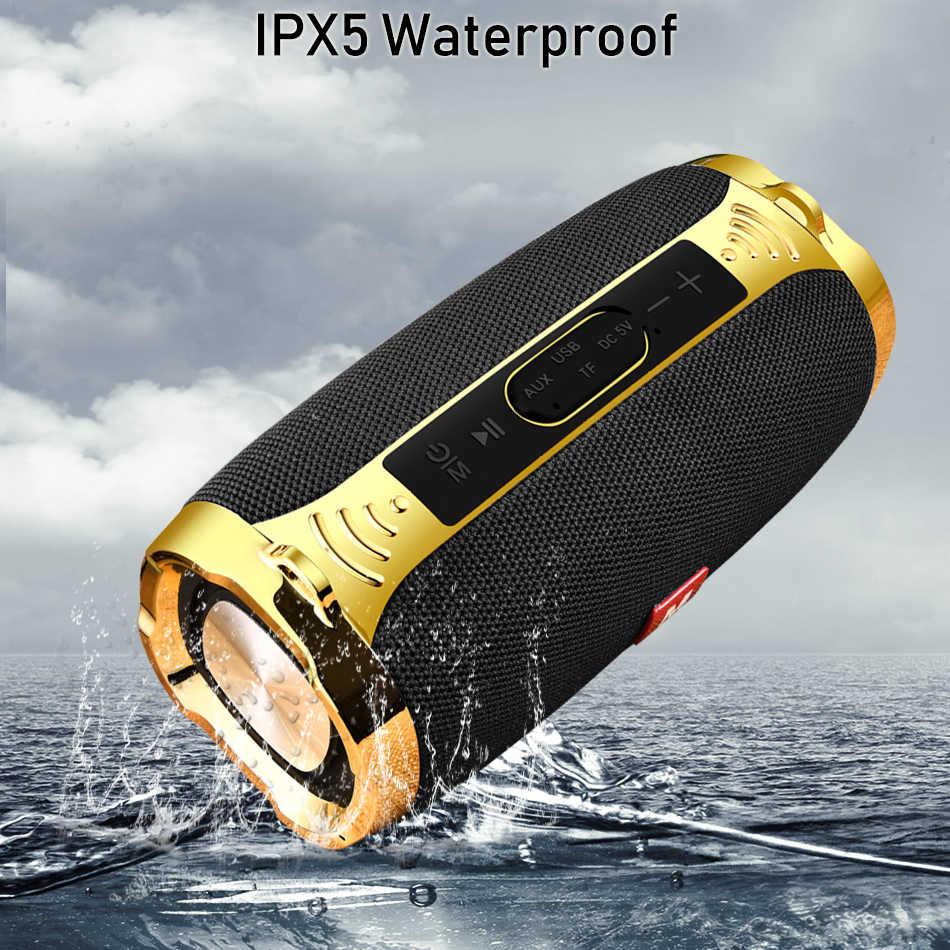 Original LIGE Bluetooth Speaker Waterproof Portable Outdoor Wireless Mini Column Box Speaker Support TF card FM Stereo Hi-Fi Box