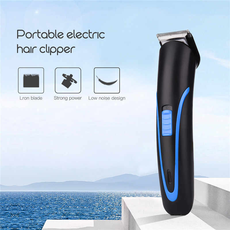 Portable Electric Hair Trimmer for Men High Performance Cutting Machine Low Noise Rechargeable Hair Clipper Styling Tools 42