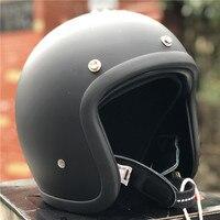 Japanese low profile motorcycle helmet 500TX cafe racer helmet Fiberglass shell light weight Vintage motorcycle helmet