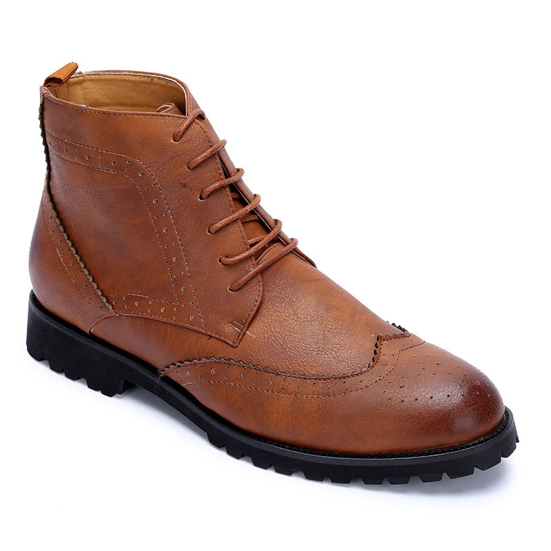Popular Vintage Leather Boots Men-Buy Cheap Vintage Leather Boots