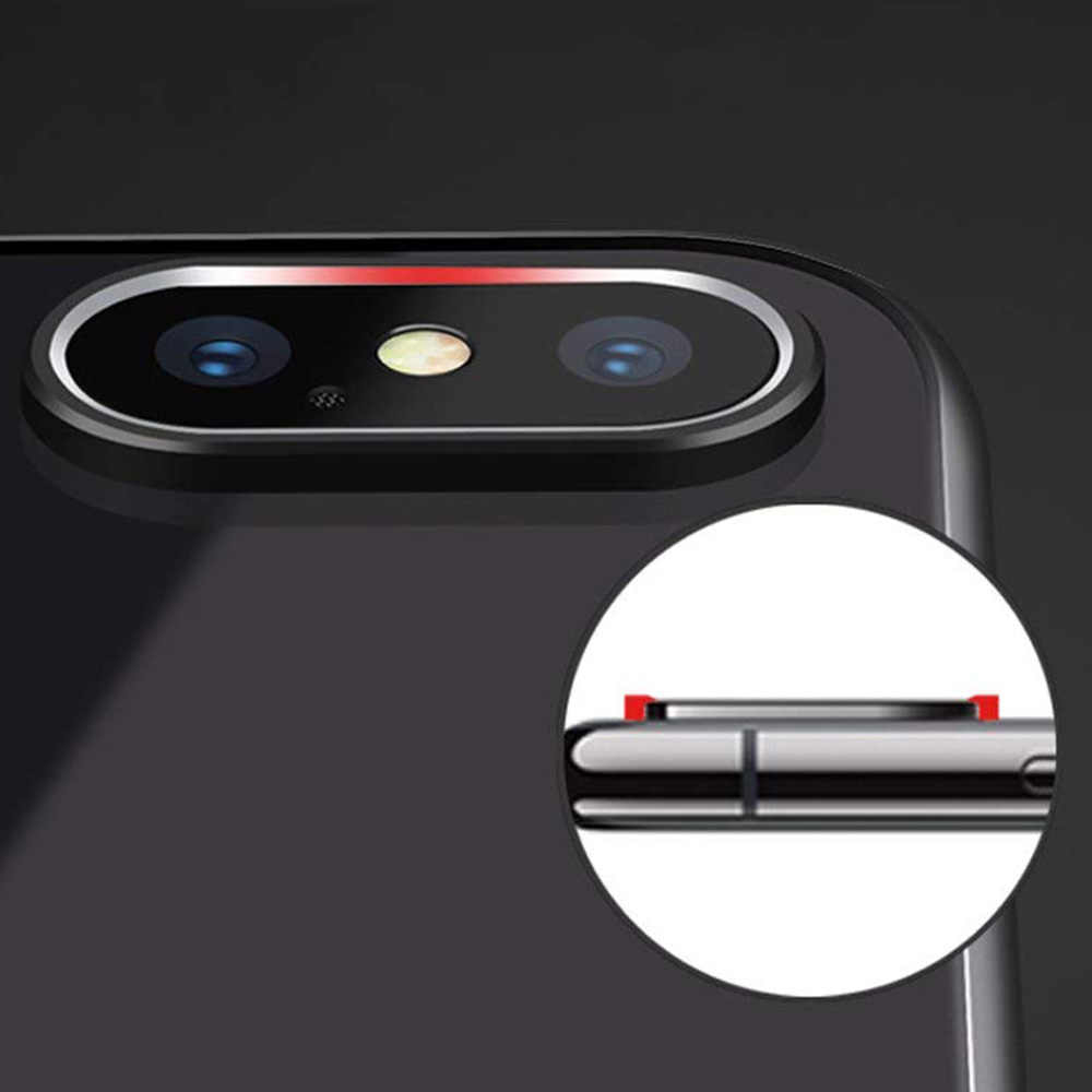 Hsmeilleur Rear Camera Lens Protector Metal Ring For iPhone XS Max XR X 8 7 6 s Plus Back Camera Protetor Case Cover Accessories