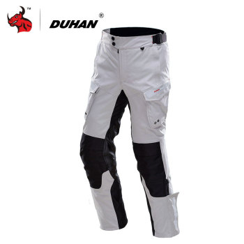 DUHAN Motorcycle Pants Men Waterproof Moto Pants Autumn Winter Motorbike Motocross Off-Road Pants Protective Gear Pantalon Moto