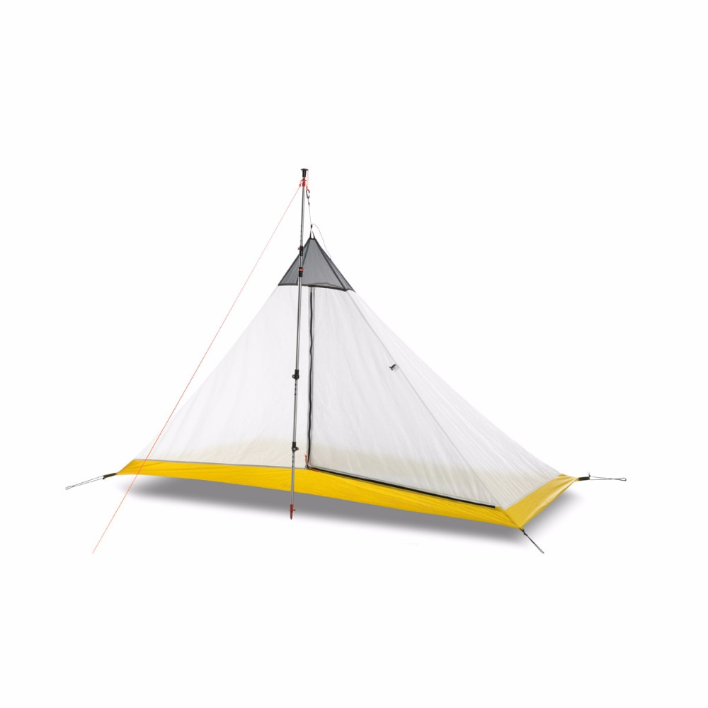 FLAMES CREED Ultralight 1-2 Person silicon coating inner tent outdoor 3/ 4 seasons camping tent Rodless Pyramid Large Tent FLAMES CREED Ultralight 1-2 Person silicon coating inner tent outdoor 3/ 4 seasons camping tent Rodless Pyramid Large Tent
