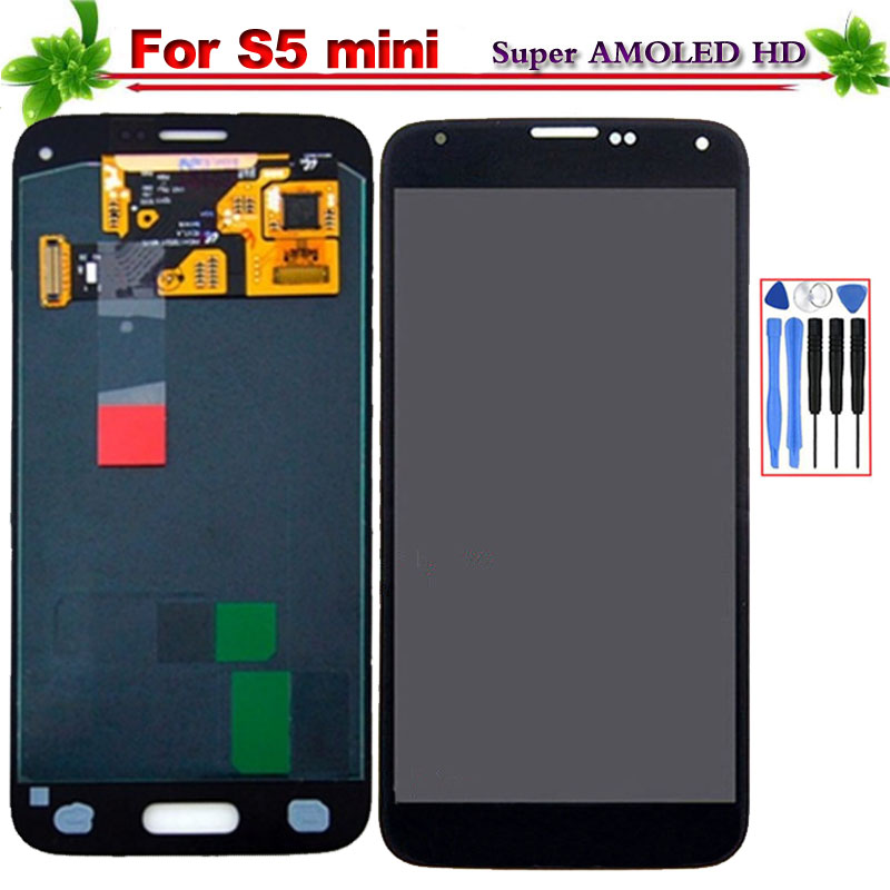 100% Tested Super AMOLED for Samsung Galaxy S5 Mini G800 LCD Display Touch Screen Digitizer Replacement for Galaxy S5 Mini G800F100% Tested Super AMOLED for Samsung Galaxy S5 Mini G800 LCD Display Touch Screen Digitizer Replacement for Galaxy S5 Mini G800F