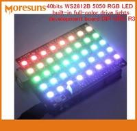 Fast Free Ship 5PCS LOT 40 Bits WS2812B 5050 RGB LED Built In Full Color Drive