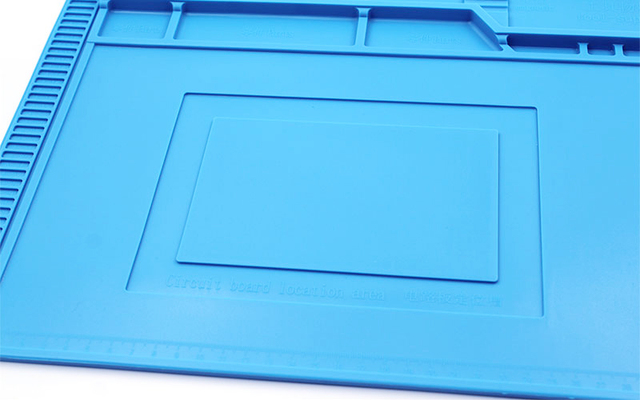 ESD Heat Insulation Working Mat Heat-resistant BGA Soldering Station Repair Insulation Pad Insulator Pad Maintenance Platform Electric Soldering Irons