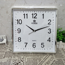 POWER Brand 12 Inch Large Wall Clock Simple Horloge Murale Reloj De Pared Klok Silent Vintage Home Decor Metal Pointer Clocks