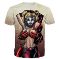 Mujeres Harley Quinn Deadpool T Shirt Anime Hombres De Blanco Tee Shirt Homme 3d Camiseta Comando Suicida Pokemon Shirts Marca ropa