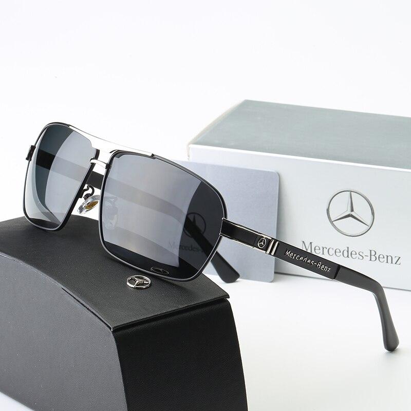 Brand Men's Mirror Sunglasses Polarized Lens Vintage Eyewear Driving Sun Glasses For Men