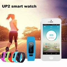 Высокое Качество Up2 0.91 «Умный Браслет Здоровья Монитор Bluetooth V4.0 силикагель Браслет Для Android IOS Горячий Продавать Оптовая