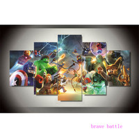Lego Marvel Super Heroes 1 5 Pieces Canvas Painting Print Living Room Home Decor Modern Wall Art Oil Painting