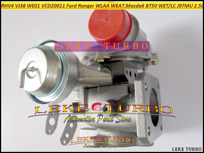 Free Ship Turbo RHV4 VJ38 VED20011 WE01 WE01F Turbocharger For MAZDA 6 BT50 BT-50 WET WLC For FORD Ranger WLAA WEAT J97MU 2.5L free ship rhv4 vj38 we01 we01f ved20011 ved20021 vgd20011 turbo for ford ranger wlaa weat for mazda 6 bt50 we t wl c j97mu 2 5l
