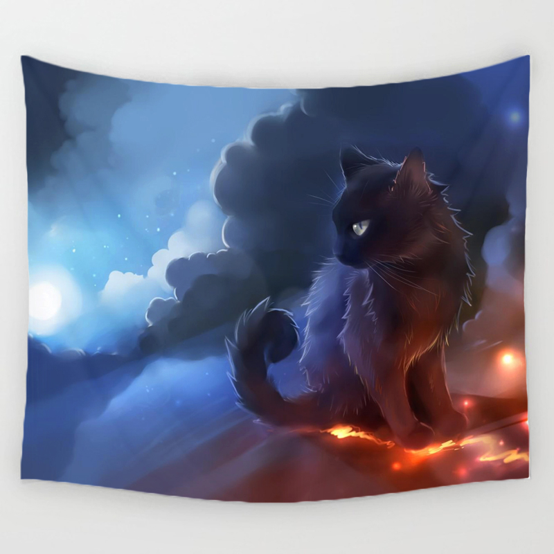 Cat Lovers Wall Tapestries 5