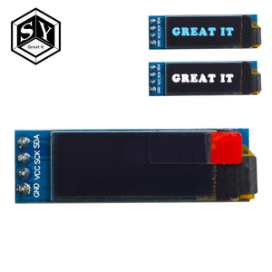 1PCS Great IT 0.91 inch OLED module 0.91