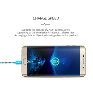 Image 5 - KEYSION מיקרו USB כבל 2.4A ניילון מהיר תשלום USB כבל נתונים עבור Samsung Xiaomi Tablet אנדרואיד טלפון נייד USB טעינה כבל