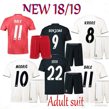 364378316 La Liga 2019 Realed Madrided Soccer jersey Adult suit 18 19 Home Away 3RD MARIANO  BALE