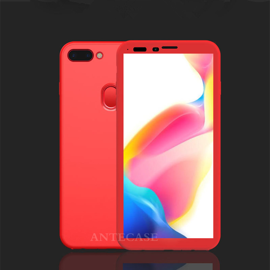 360 Full Cover Phone Cases For OPPO R9s R11 R11s Plus R15 R17 Case OPPO F1S F5 F9 A3 A5 A83 A79 A59 A57 Cover 360 Silicone Case