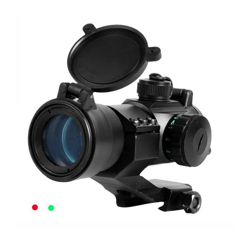Neue Outdoor Jagd Hochwertige Aluminiumlegierung Struktur Tactical Red Green Dot Anblick Mit 5 Stufen Helligkeit