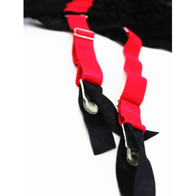 Size XL Garter Belt Black Garter Belt for Stockings