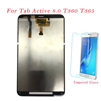 Test Tablet LCDs For Samsung T360 T365 LCD Display Touch Screen Digitizer Assembly For Samsung Galaxy Tab Active 8.0 SMT360 T365