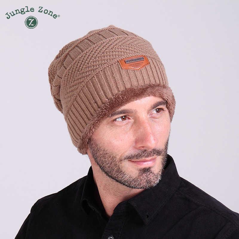 الغابة منطقة الشتاء التوسيم الجديد قبعة منسوجة زائد المخملية قبعة الشتاء في الهواء الطلق مقنع كاب تزلج قبعة تدفئة شحن مجاني