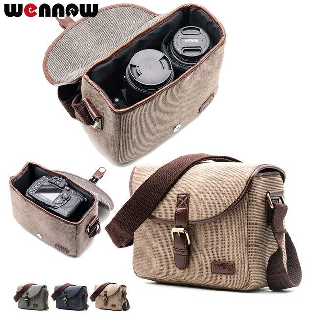 Wennew Retro Camera Shoulder Bag for Fujifilm X H1 X T3 X PRO 2 X T100 X T20 X T10 X T2 X T1 X E3 X E2 X E1 X A10 X A5 X A3 X70