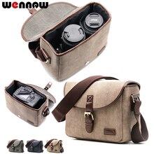 Wennew Retro Kamera Schulter Tasche für Fujifilm X H1 X T3 X PRO 2 X T100 X T20 X T10 X T2 X T1 X E3 X E2 X E1 X A10 x A5 X A3 X70