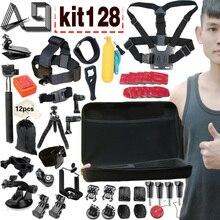 A9 для экшн-камеры аксессуары набор для GoPro 5 4 3/Xiaomi Yi/Экен H9/SJCAM SJ4000/ Go Pro/Sony экшн-камеры