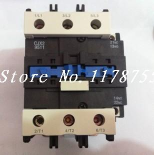 AC Contactor Motor Starter Relay (LC1) CJX2-9511 NO+NC 380/400V Coil 95A 45KW ac contactor sc n5px