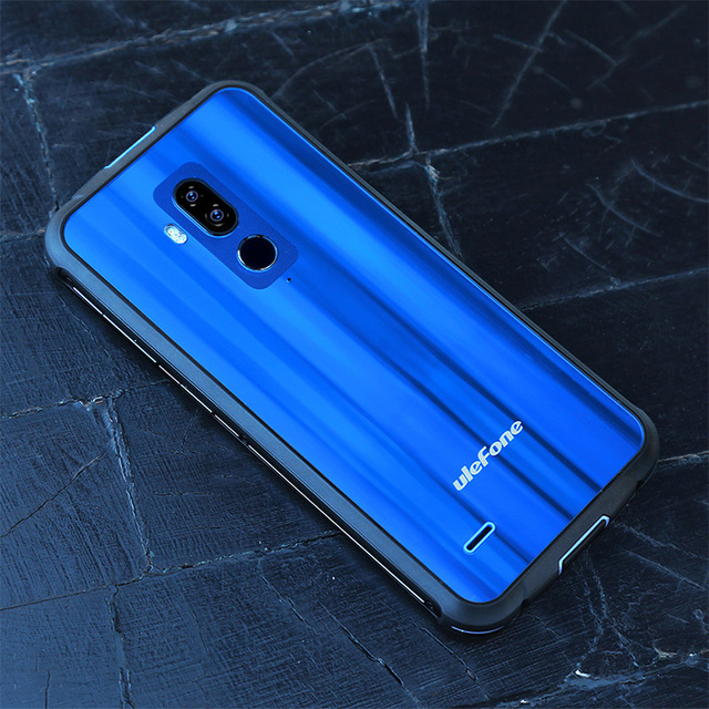 Ulefone Armor 5 IP68 Waterproof Mobile Phone Android 8.1 4GB+64GB Octa Core Smartphone NFC Face ID Wireless Charge Cell Phone