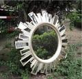 European style retro resin mirror