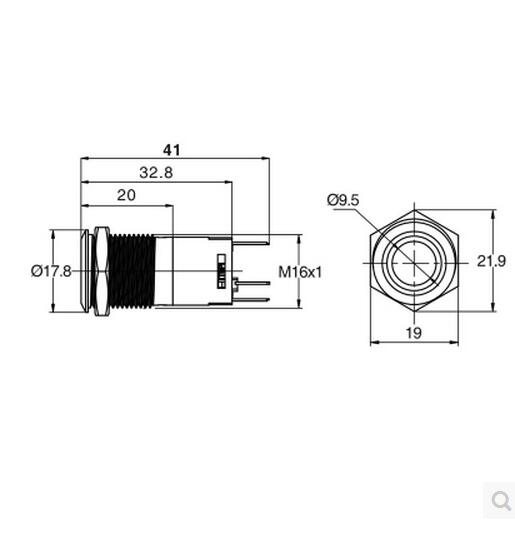wiring us solid 16mm led latching switch wiring diagram