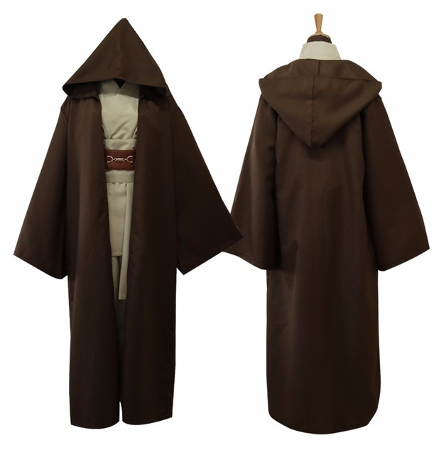 2017 Star Wars Jedi Knight Anakin Skywalker Uniform Cosplay Costume Anakin Skywalker / Obi-Wan Kenobi Full Set Costume Full Set