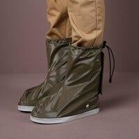1 Pair Cycling Shoe Covers Winter Waterproof Road Bike Overshoes Men Women Rain Cover For Shoes